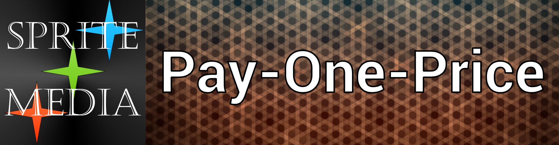 Sprite Pay One Price Logo